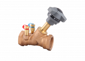 Static Balancing Valve Bronze Threaded